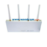 10w 4 band GSM Cell Phone Jammer School Rooms W/Remote/Adjustable Range Moible Phone Blocker