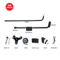"""Under Vehicle Inspection Detector Car Inspection Mirror With DVR Function with Camera and 4.3"""" LCD Monitor"""