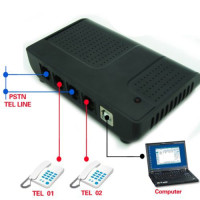 2 Channel Telephone Recorder - Record Telephone Communication with this Voice Telephone Recorder