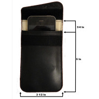 Cellphone GPS Signal Tracking Blocker Pouch Case Bag. Prevent Tracking & Hacking