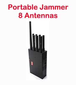 8 Band Portable Jammer
